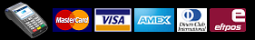 EFTPOS and major credit card payments accepted